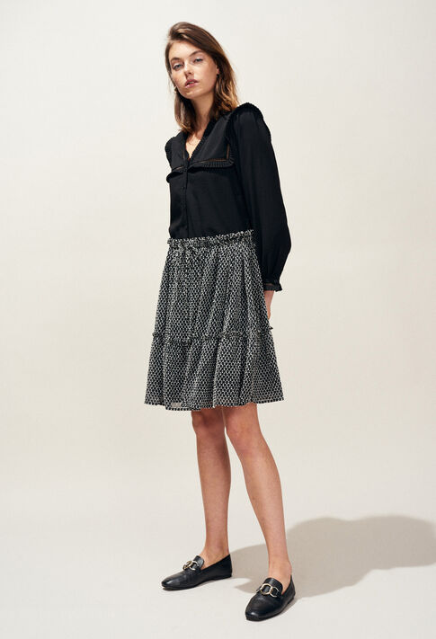 SHEHERAZADE : Skirts & Shorts color Black