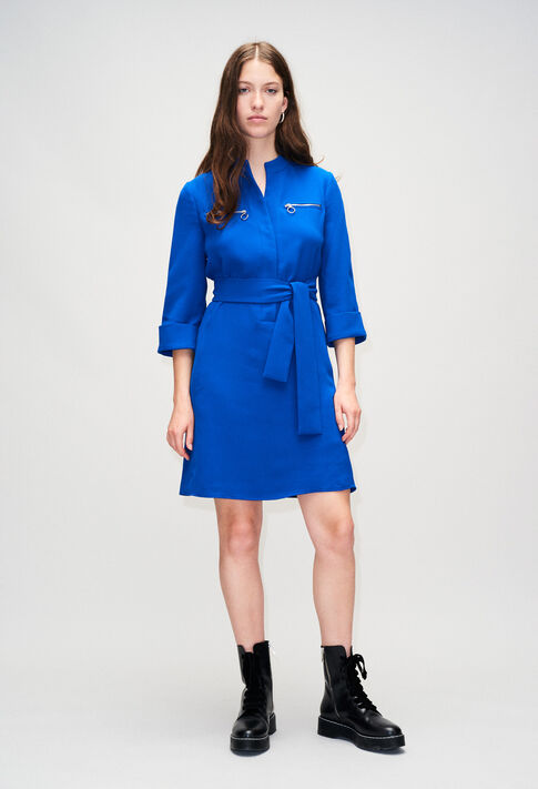 REDH19 : Dresses color BLEU ROI
