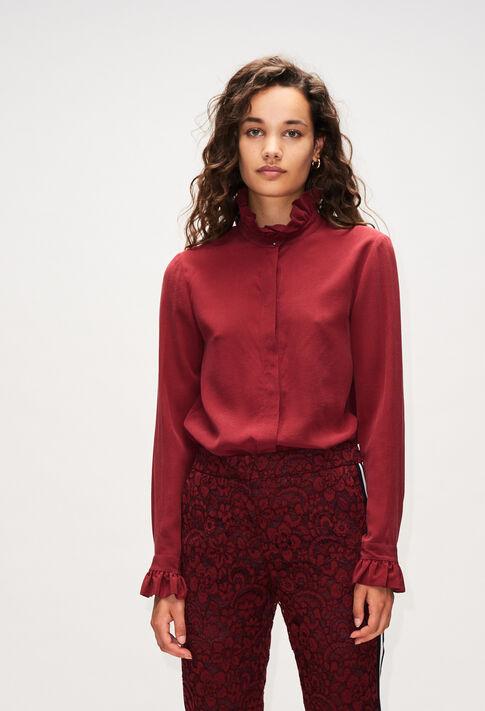 COLOMBEFLOUH19 : Tops et Chemises couleur VELVET