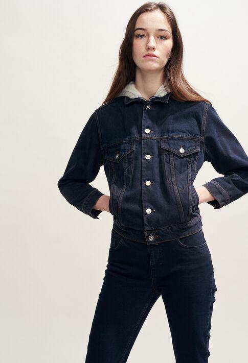 VINCE : Manteaux et Blousons couleur Jean