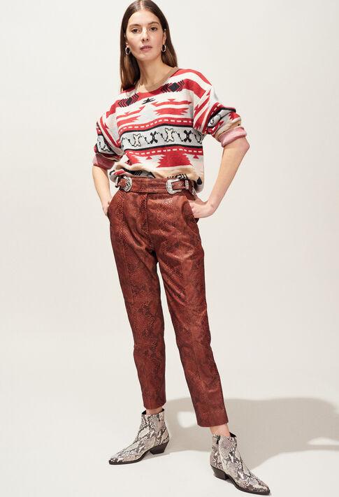 MOUNT : Maille & Sweatshirts couleur MULTICO