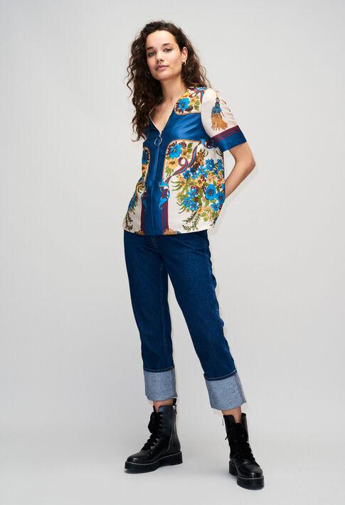 BINDOH19 : Tops et Chemises couleur MULTICO