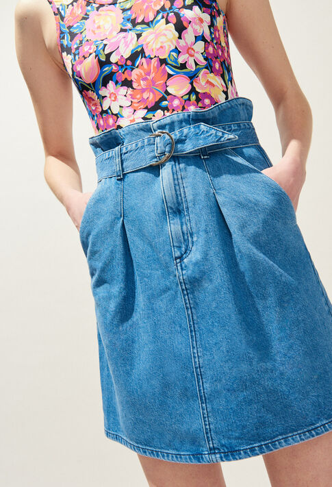 STELLE : Skirts & Shorts color JEAN