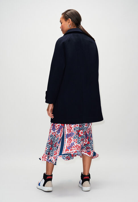 GRANITEH19 : Coats & Jackets color NAVY