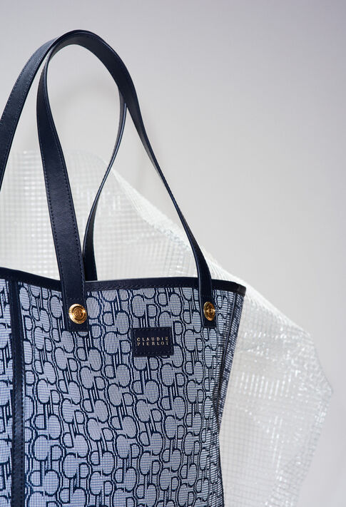 ACHILLEMONOGRAMH19 : Bags & Leather Goods color Navy