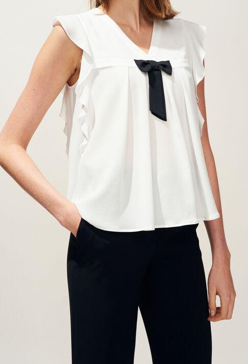 BRAVA : Tops & chemises couleur Ecru