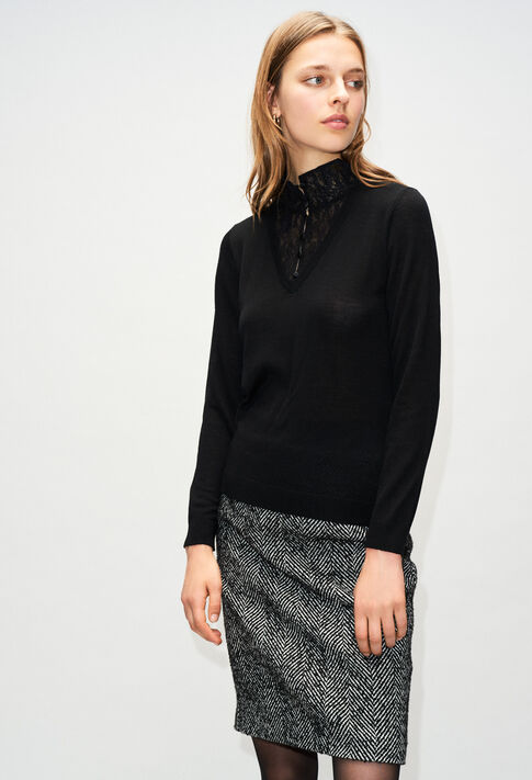 MACAOH19 : Knitwear & Cardigans color BLACK