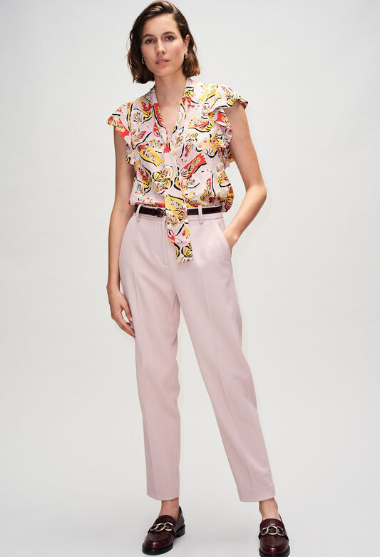 BAVARDH19 : Tops & Shirts color PRINT