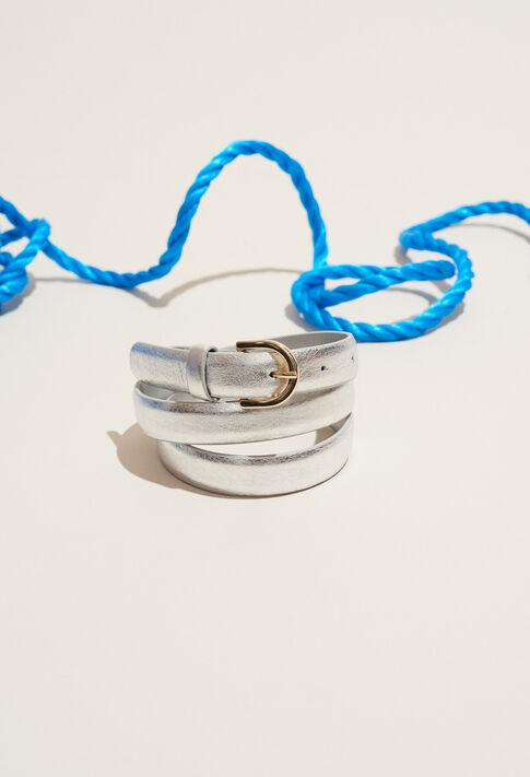 ADELA : Belts color Silver