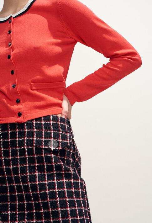 SIDONIE : Jupes et Shorts couleur Noir