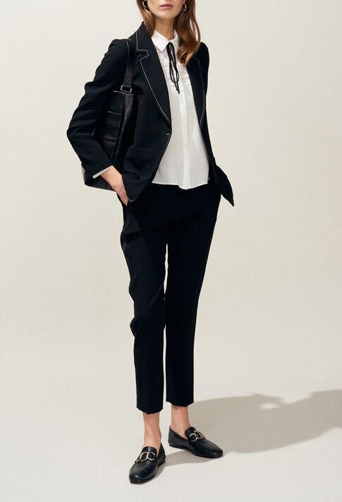 VILLAR : Vestes couleur Noir