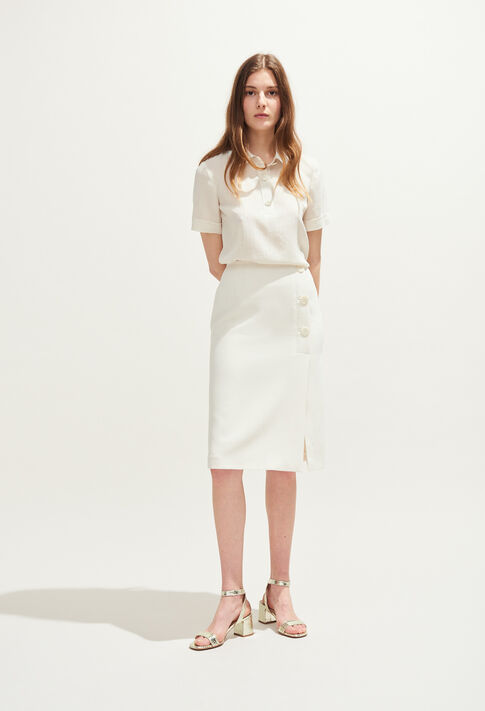 SANK : Skirts and shorts color Ivoire