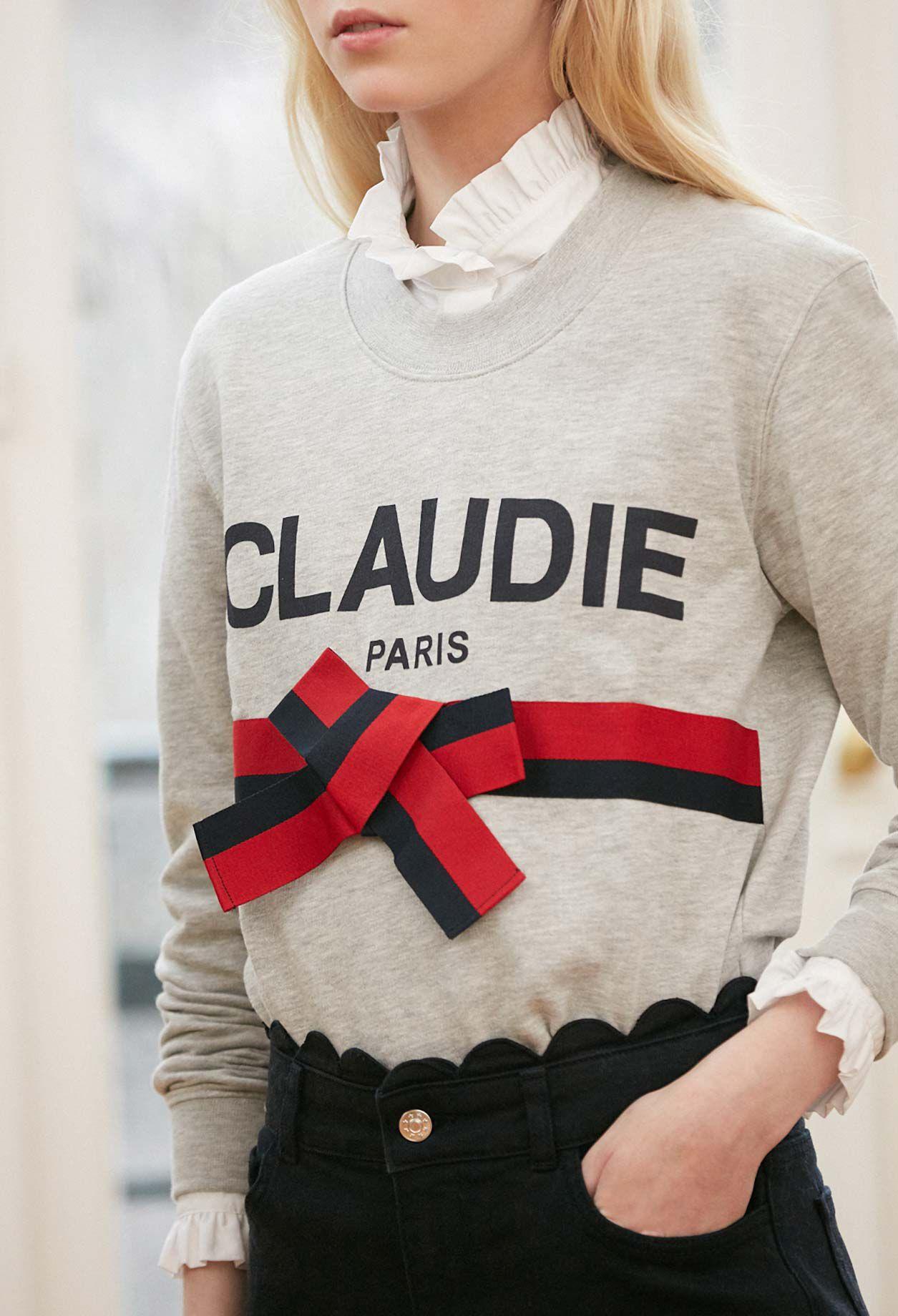 TRADI SWEATER in size T2 | Claudie Pierlot