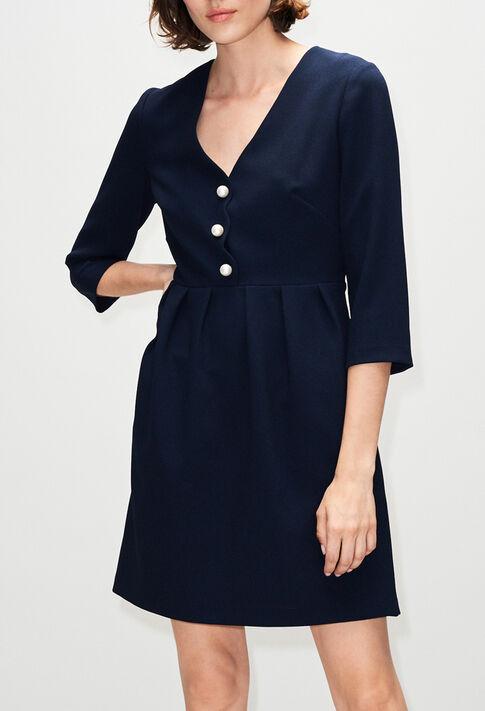 RAFIAH19 : Robes couleur MARINE