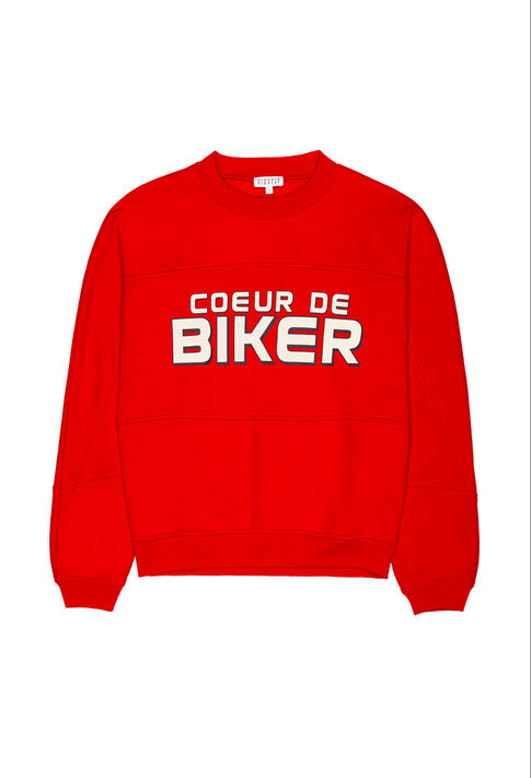 TOURNY : Sweaters color ROUGE
