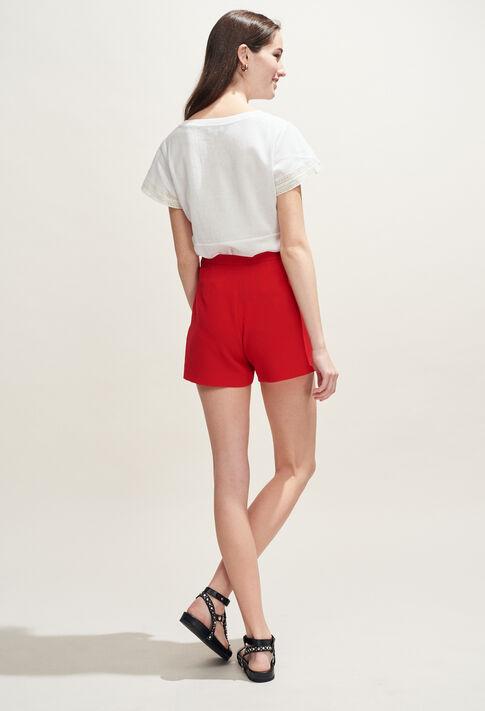 TROPICAL : T-Shirts couleur ECRU