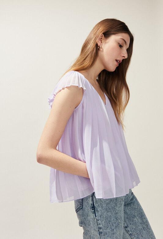 BLAZA : Tops & Shirts color LILAS