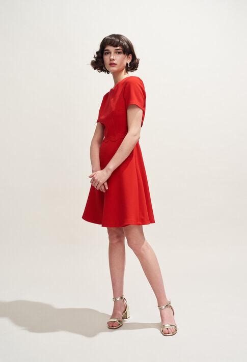 REMI : Dresses color Ecarlate