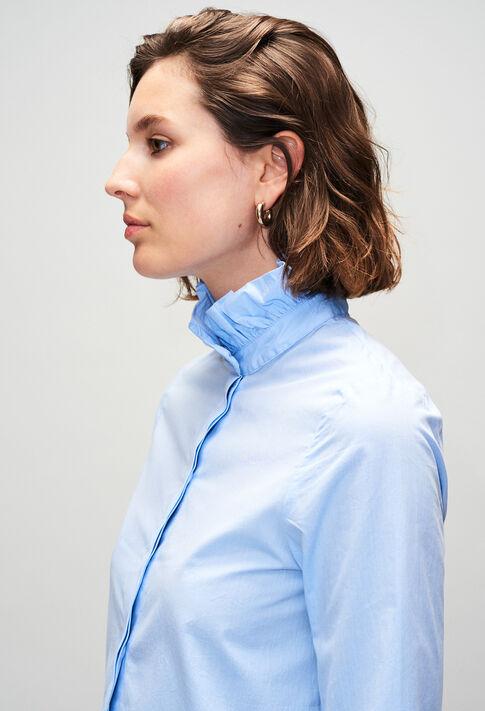 COLOMBEH19 : Tops & Shirts color CHAMBRAY CLAIR - SHIRTING