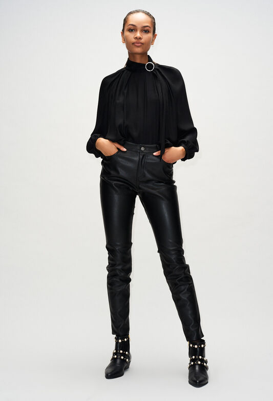 PANAMEH19 : Jeans & Pants color Black