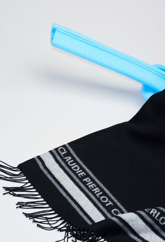 ATIKUSH19 : Scarves color BLACK