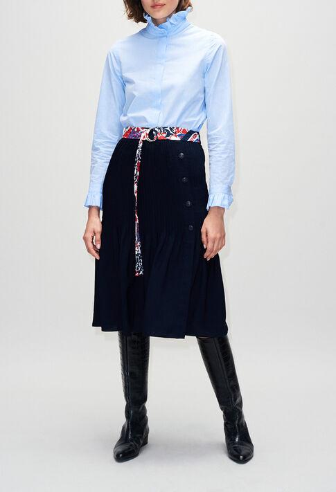SHADEH19 : Skirts & Shorts color NAVY