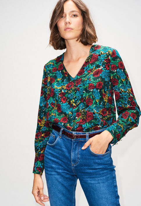 BROUTILLEH19 : Tops & Shirts color PRINT