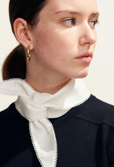 MASSINARI : Maille & Sweatshirts couleur Marine