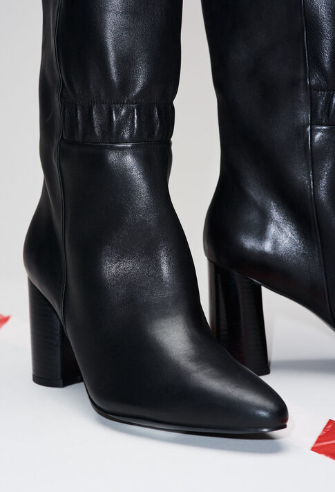 AUDREYH19 : Chaussures couleur NOIR