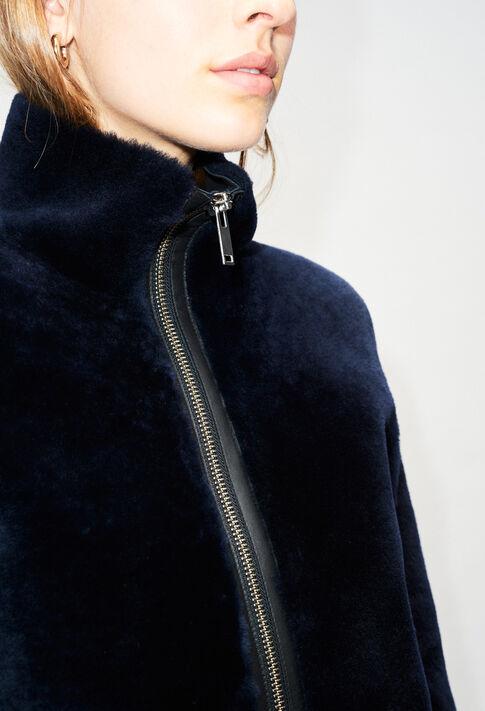 FRENCHH19 : Manteaux et Blousons couleur MARINE