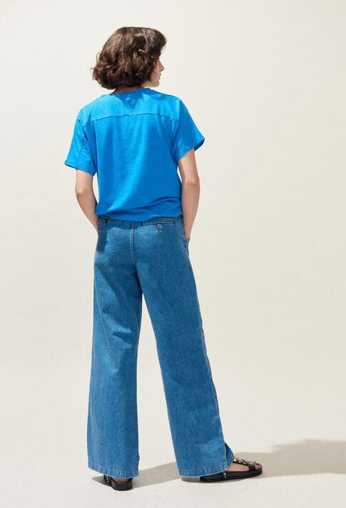 PLOUF : Pantalons et Jeans couleur JEAN