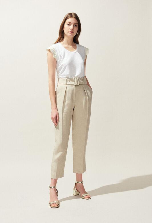 PALAIS : Pantalons et Jeans couleur NATUREL