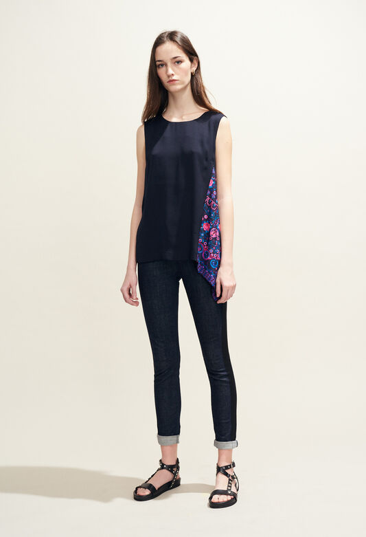 BALADINE : Tops & Shirts color Navy