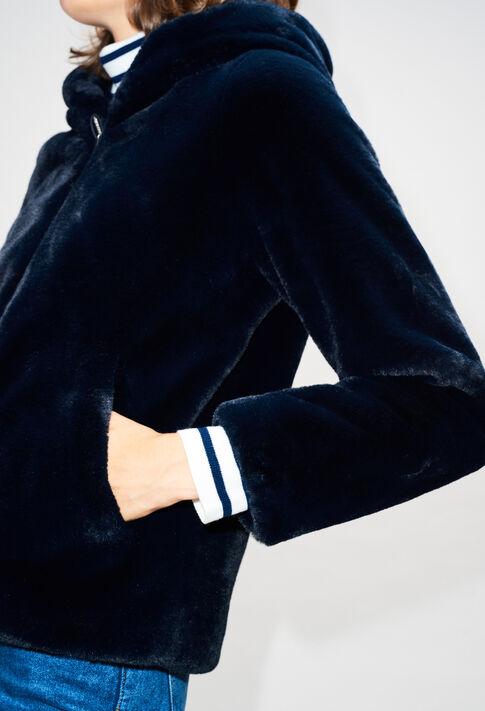 FELICIENH19 : Manteaux et Blousons couleur MARINE