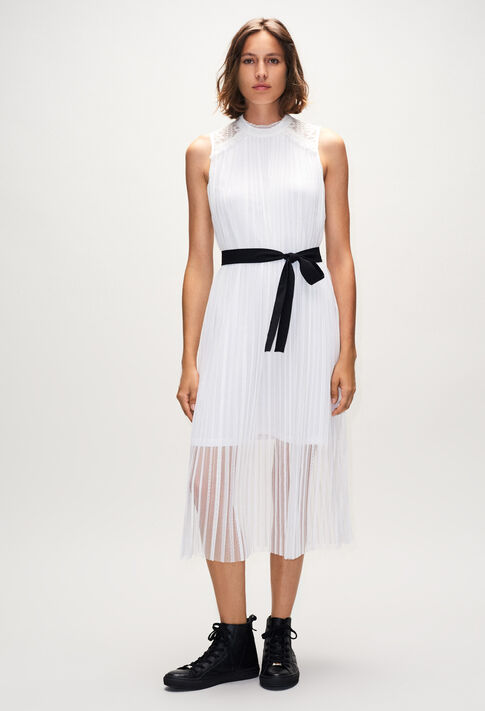 TIKAH19 : Dresses color ECRU