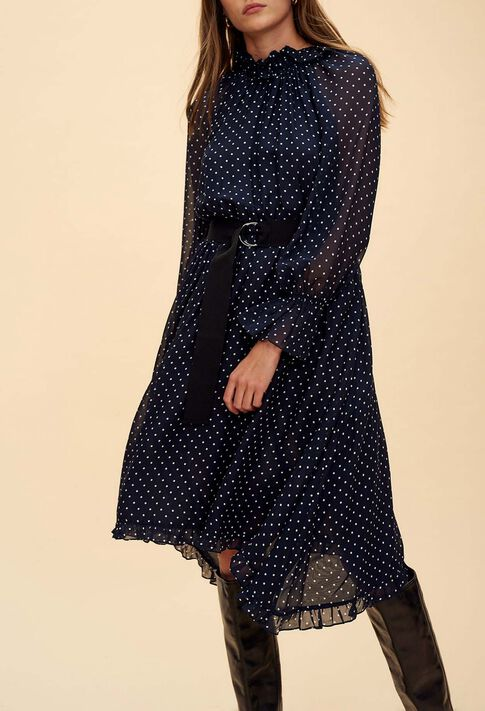 ROMILLY BIS : Dresses color Navy