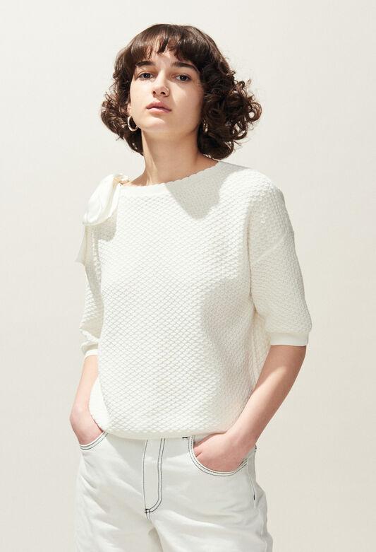 MAGDA : Knitwear & Cardigans color Ecru