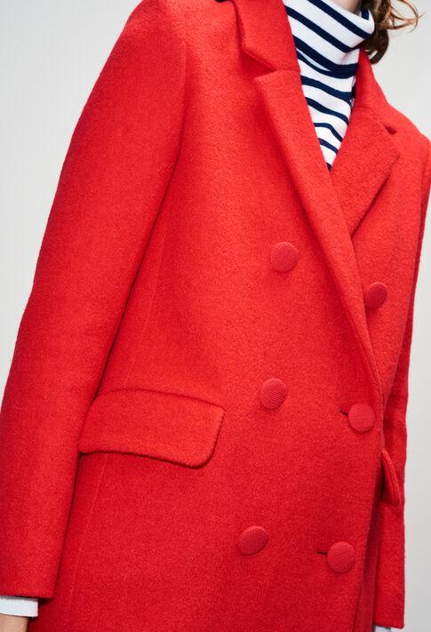 GERTRUDEH19 : Manteaux et Blousons couleur COQUELICOT