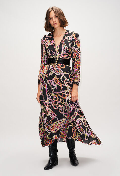RACINEH19 : Robes couleur PRINT