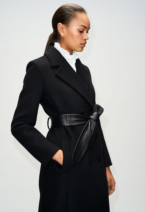 GRATTECIELH19 : Manteaux et Blousons couleur NOIR