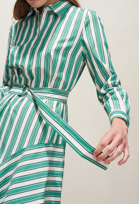 RICKLE : Robes couleur VERT VEGETAL