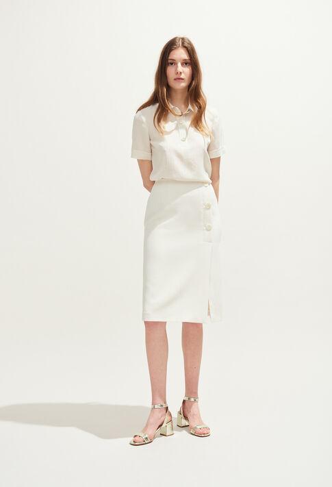 SANK : Skirts & Shorts color IVOIRE