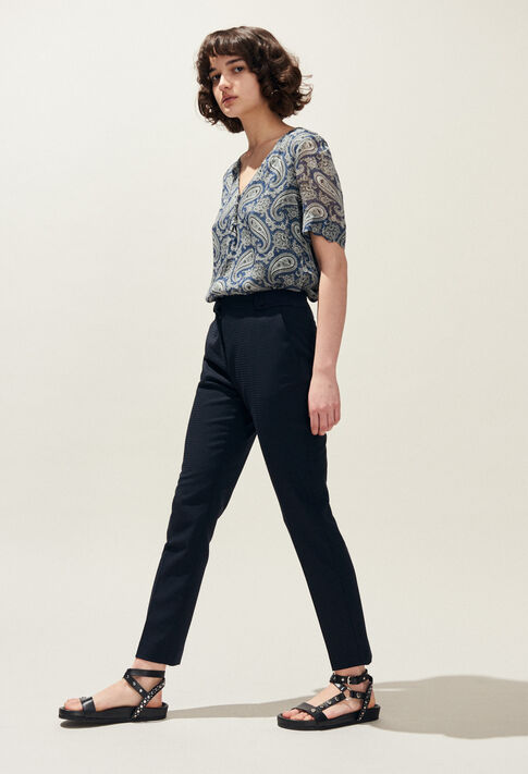PLAISIR : Jeans & Pants color Navy