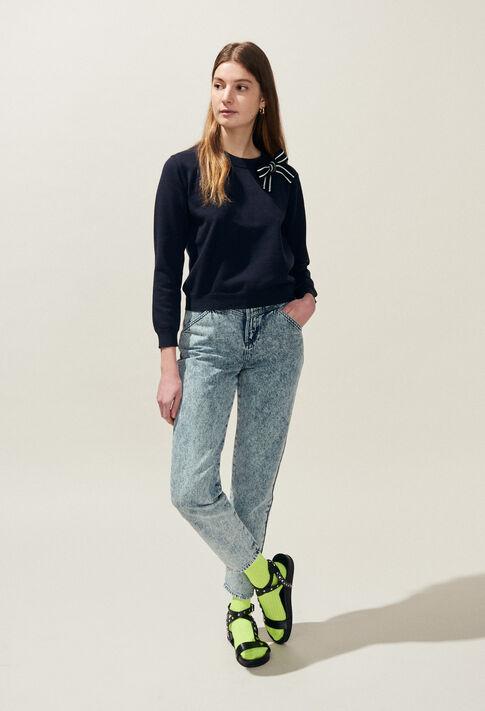 MIXITY BIS : Mailles & Sweatshirts couleur Marine