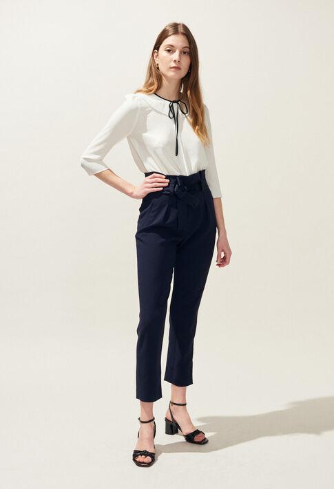 PAULETTA : Jeans & Pants color Navy