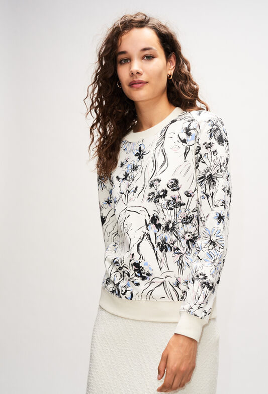 THIBAULTH19 : Maille & Sweatshirts couleur PRINT