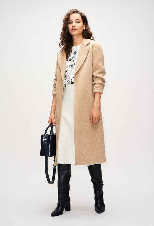 GANIAH19 : Coats & Jackets color SABLE