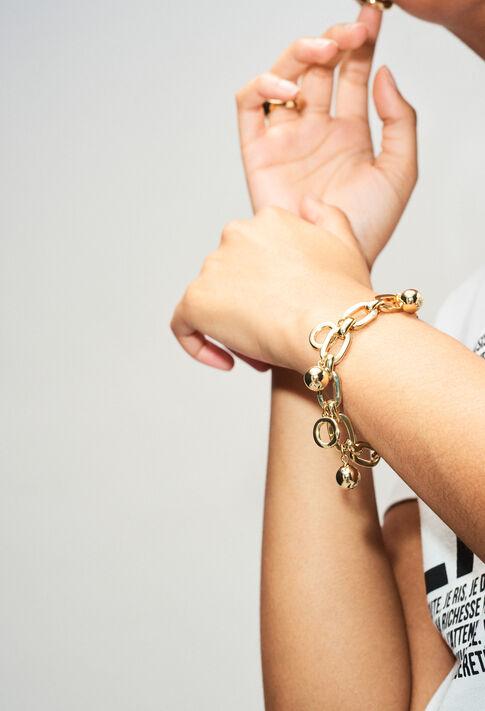 AJOYBRACELETV1H19 : Jewellery color LIGHT GOLD