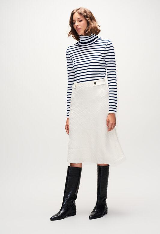 SAUGEH19 : Skirts & Shorts color ECRU