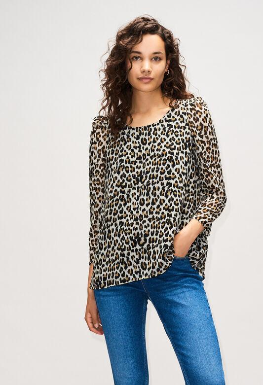 BANCLEOPARDH19 : Tops & Shirts color PRINT